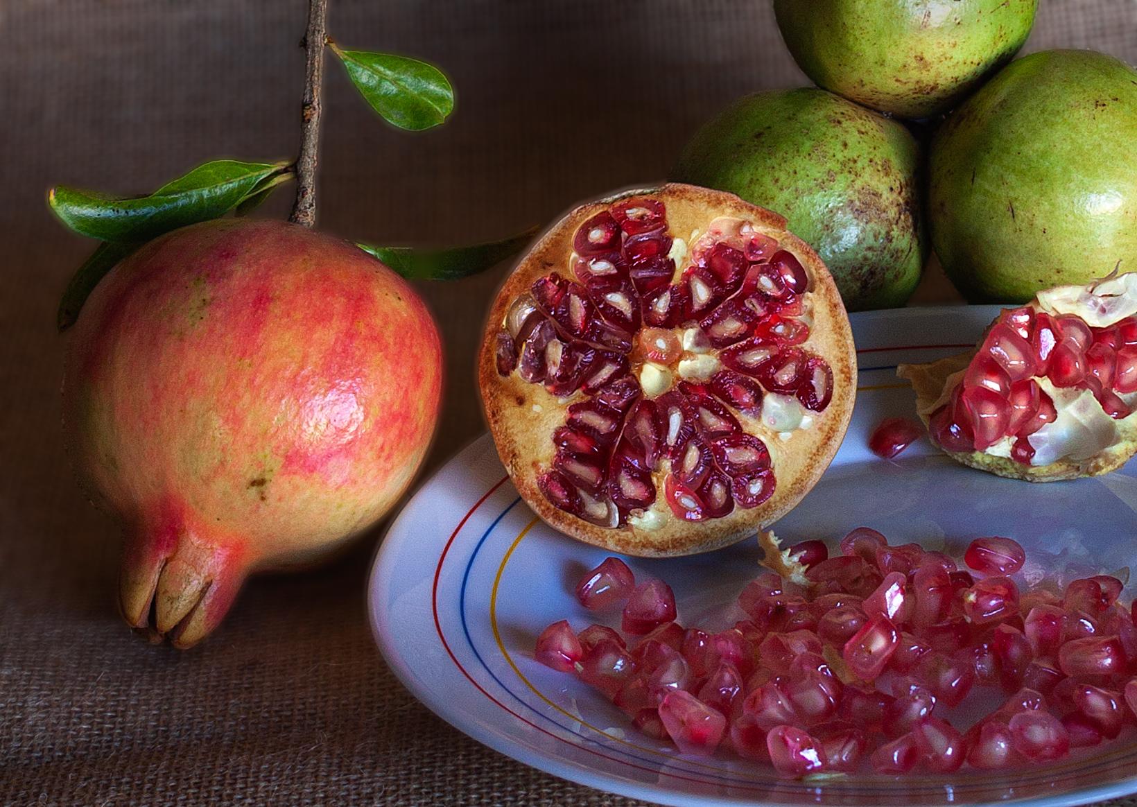 Bodegon de frutas 1