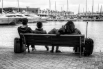 Esperando el último barco